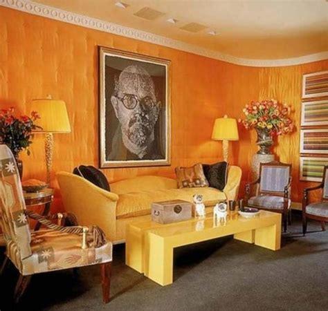 15 Lively Orange Living Room Design Ideas  Rilane