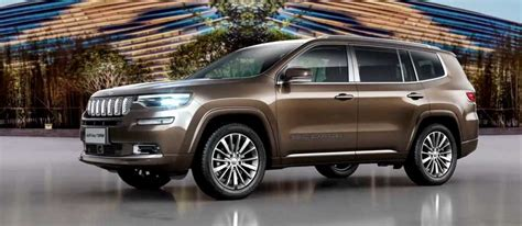 2018 Jeep Grand Commander Revealed- Launch, Price, Engine