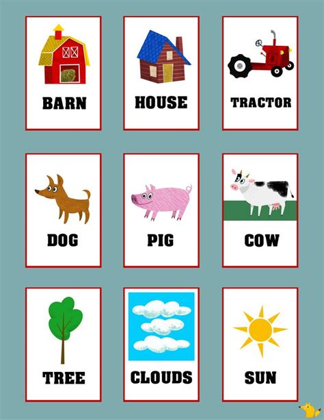 1000+ Images About Flash Cards For Kids On Pinterest  Abc Alphabet, Kid And Typography