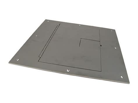 fsr fl 600p ss c cover no flange w hinged door stainless steel for fl 600p conference room av