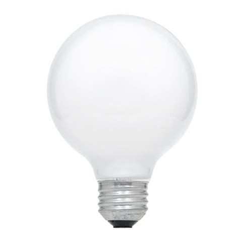 shop sylvania 3 pack 25 watt dimmable soft white g25 incandescent decorative light bulb at lowes