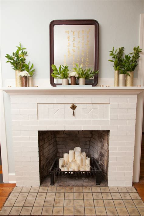 living room theater portland gift certificates 10 ways to decorate your fireplace in the summer since