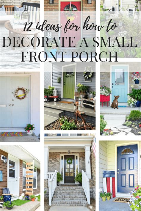 Ideas For A Small Front Porch  Love & Renovations