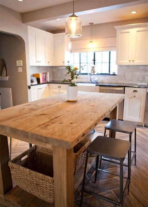 25 best ideas about island table on kitchen booth seating kitchen island table and
