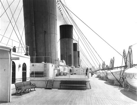 Titanic Boat Structure by Deck Ship Wikipedia