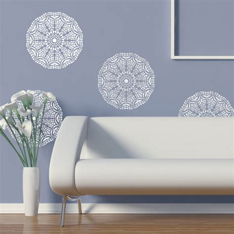 wall lace decorative stencil talia for home painting decorating diy decor j boutique stencils