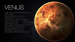 Venus - High Resolution Infographic Presents One Stock ...