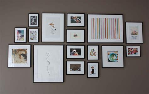 mur de cadres photos decoration design d int 233 rieur et id 233 es de meubles