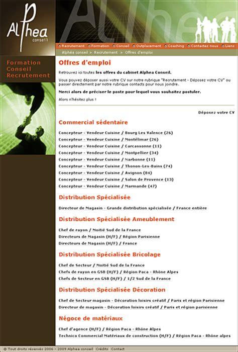 cabinet de recrutement et formation alphea conseil site cr 233 ation developpement et