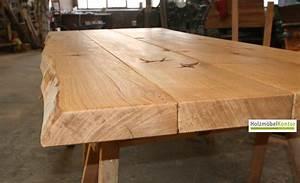 Massivholzplatte Mit Baumkante : tischplatten nach ma ~ Markanthonyermac.com Haus und Dekorationen