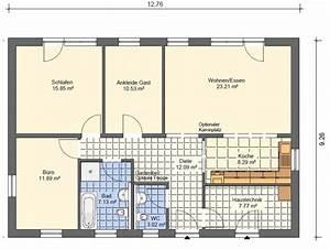 Grundriss Bungalow 100 Qm : bungalow grundrisse bersicht mit vielen bungalow grundrissen haus grundriss ~ Markanthonyermac.com Haus und Dekorationen