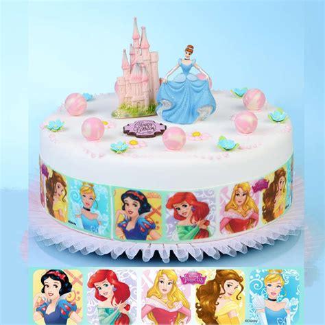 ruban pate a sucre princesses disney univers cake