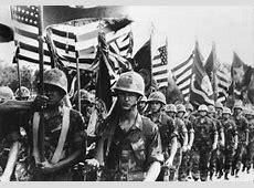 Amerikaanse soldaten in de Vietnam oorlog Vietnam Oorlog