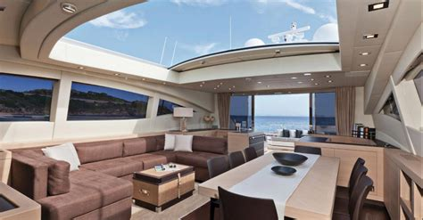 Big Sailboat Jobs by Mangusta 92 Yacht Interior Yacht Charter Superyacht News
