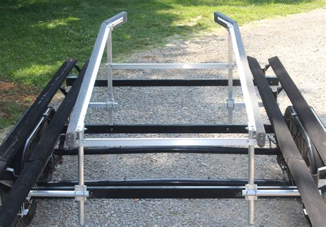 Pontoon Boat Quick Loader by Make Boat Trailer Guides Autos Post