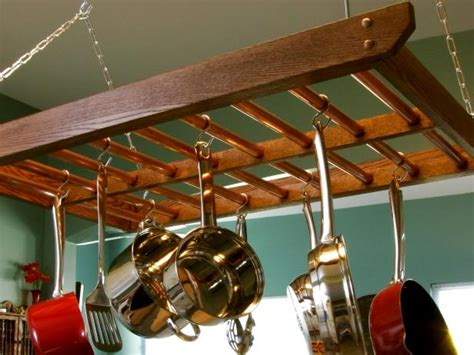 How To Build A Hanging Pot Rack  Howtos Diy