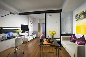Mini Apartment Einrichten : dachschraege einrichten einraumwohnung ideen ~ Markanthonyermac.com Haus und Dekorationen