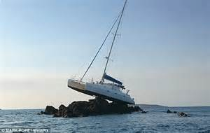 Catamaran Sailing Family by Catamaran Becomes Stranded On A Reef In Kimberley Region