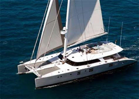 Huge Catamaran Yacht by Owning A Charter Versus A Privately Owned Catamaran