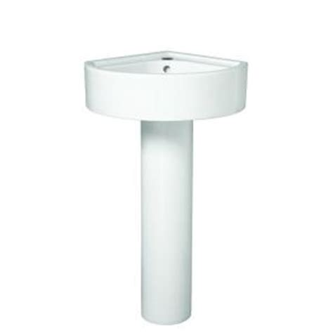 Home Depot Corner Pedestal Sink by Porcher Solutions Small Corner Pedestal Combo Bathroom