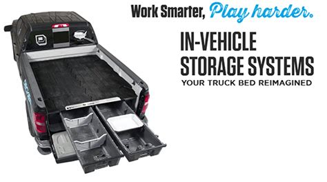 truck bed storage systems decked truck bed storage system