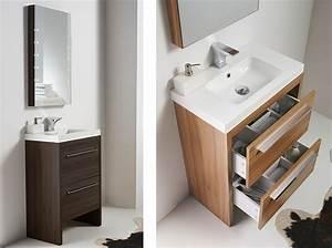 Gäste Wc Waschtisch Set : badm bel g ste wc waschbecken waschtisch handwaschbecken spiegel nordico 60cm ebay ~ Markanthonyermac.com Haus und Dekorationen