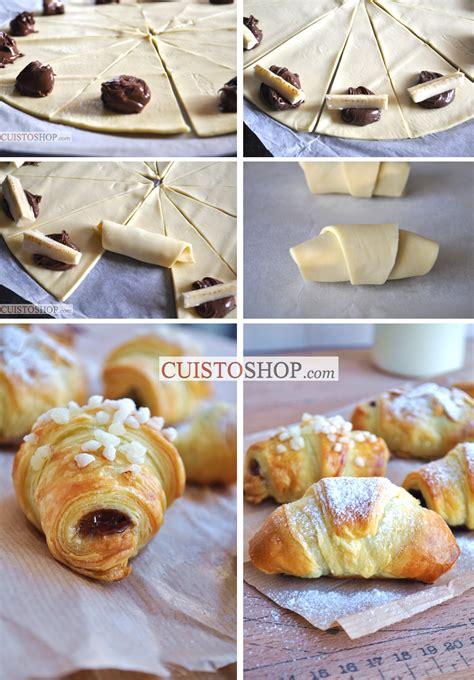 croissants feuillet 233 s banane chocolat