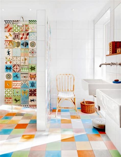 les 25 meilleures id 233 es concernant salle de bain coloree sur salle de bains color 233 e