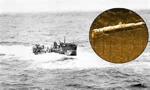 German U Boats Off Coast Florida by German U Boat Found Off Coast Of Massachusetts 68 Years