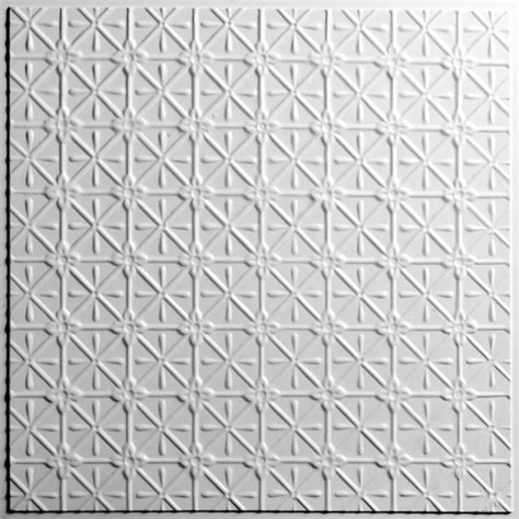 Ceiling Tiles Home Depot Canada by Ceilume Continental White Ceiling Tile 2 X 2