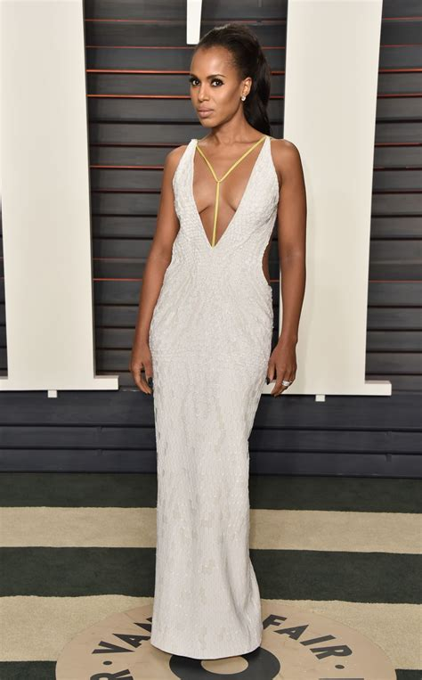 kerry washington at vanity fair oscar 2016 in