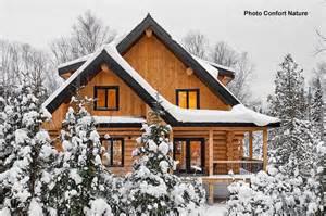 maison bois massif cheap villa bois avec mobiteck maison bois massif with maison bois massif