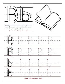Pre K Alphabet Tracing Worksheets Worksheets For All  Download And Share Worksheets  Free On