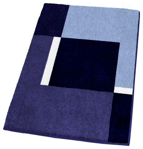 contemporary machine washable navy blue bathroom rugs large contemporary bath mats