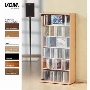 Dvd Regal Eiche : vcm cd dvd regal vetro sonoma eiche s gerau norma24 ~ Markanthonyermac.com Haus und Dekorationen