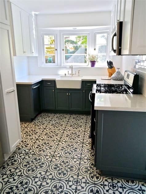 Beautiful Modern Kitchen Design Mosaic Tile Floor Griffith