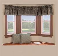 curtains for bay windows Curtain Rods For Bay Windows   Casual Cottage