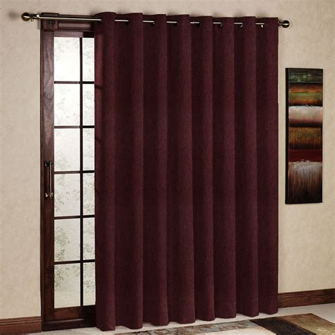 Light Filtering Thermal Curtains by One Panel Per Pack Ruby Wine Living Room Curtain Light