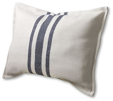 14 quot x 22 quot oversized stripe decorative pillow cover traditional decorative pillows by lands