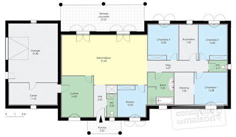 maison contemporaine 1 d 233 du plan de maison contemporaine 1 faire construire sa maison