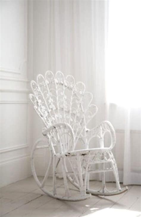 blanc white wicker rocking chair furniture tidbits white wicker all things