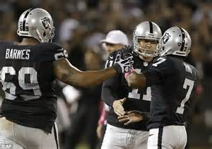 San Diego Chargers 17 Oakland Raiders 27