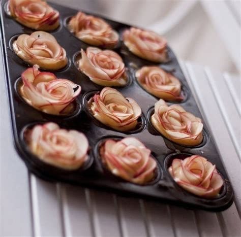 easy apple desserts how to make apple roses for a pie and mini