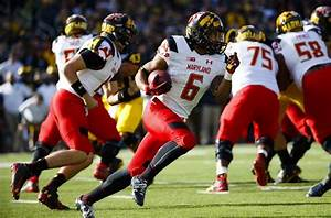 Maryland wearing new 'Red Ops' uniforms vs Ohio State (Photo)
