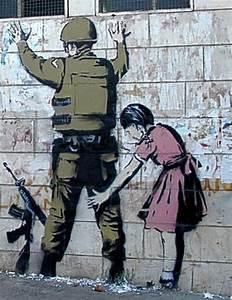 Banksy - Street Graffiti Artist That Makes You Wonder