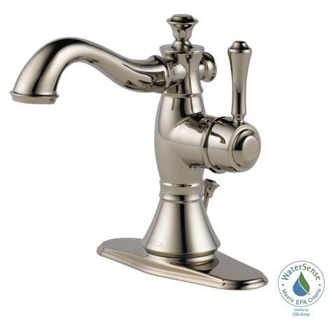delta cassidy single single handle bathroom faucet