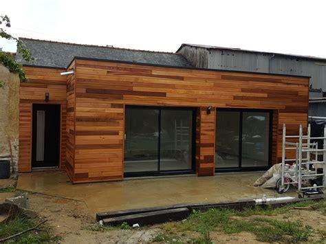 extension ossature bois rennes charpentier maison habitat construction
