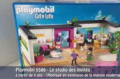 HD wallpapers presentation de la maison moderne playmobil animated ...