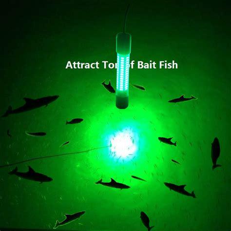Led Boat Night Lights by Upgraded 12v Led Green Underwater Fishing Boat Light Night