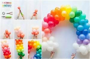 Deko Zum Selber Machen : basteln mit luftballons 11 dekoideen zum selbermachen ~ Markanthonyermac.com Haus und Dekorationen